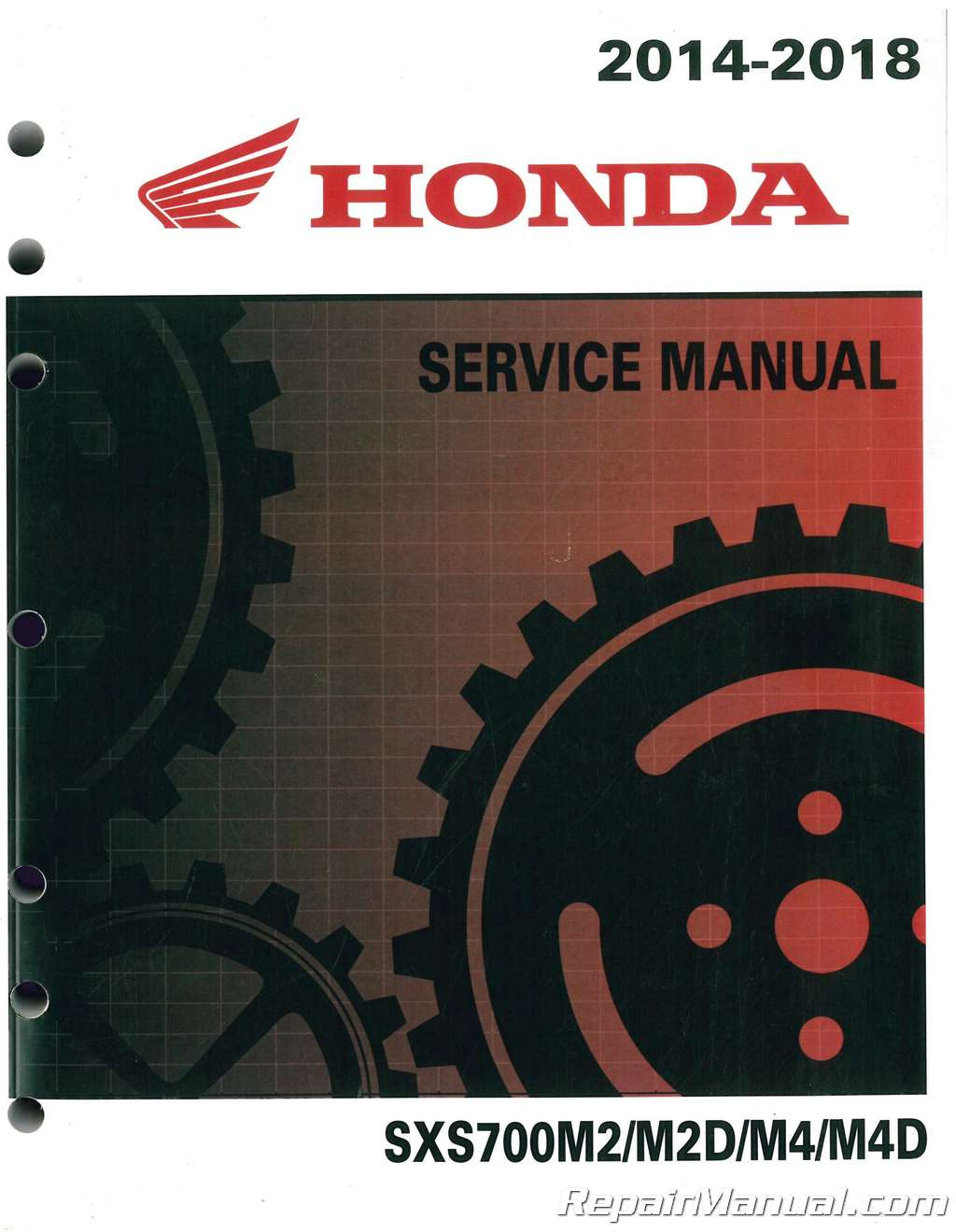 2014 2018 honda sxs700 m2 m4 pioneer utv service manual rh repairmanual com service manual pioneer sa 9800 service manual pioneer sa 9800