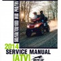 2014 Arctic Cat 500 550 700 1000 Mud Pro TRV Service Manual