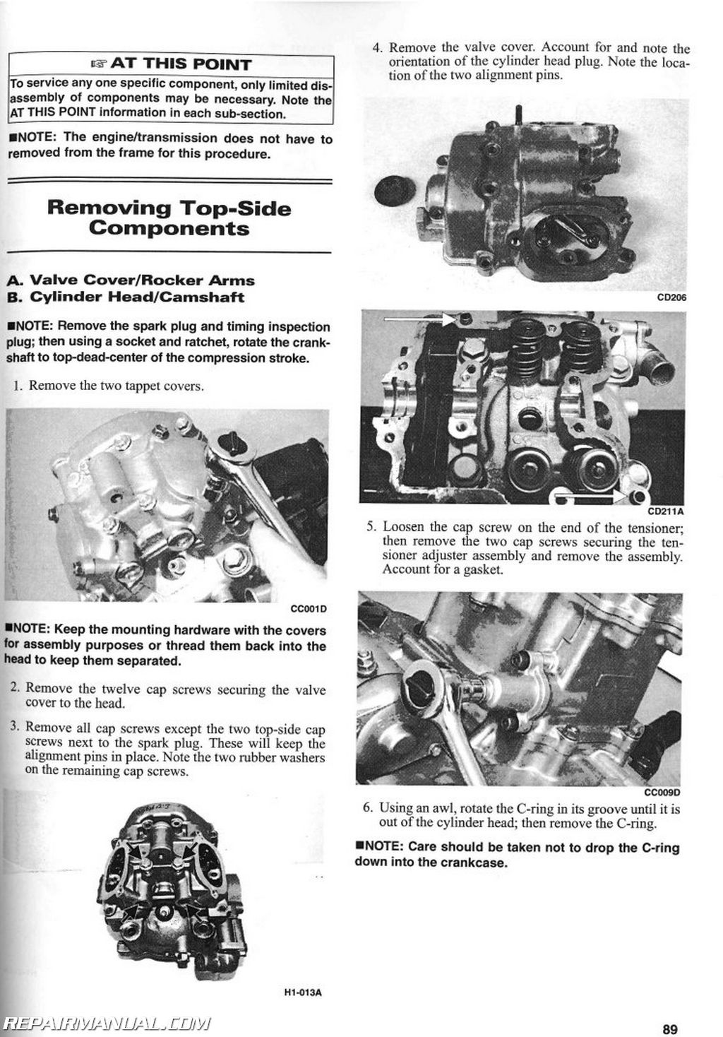 Arctic Cat Trv  Service Manual