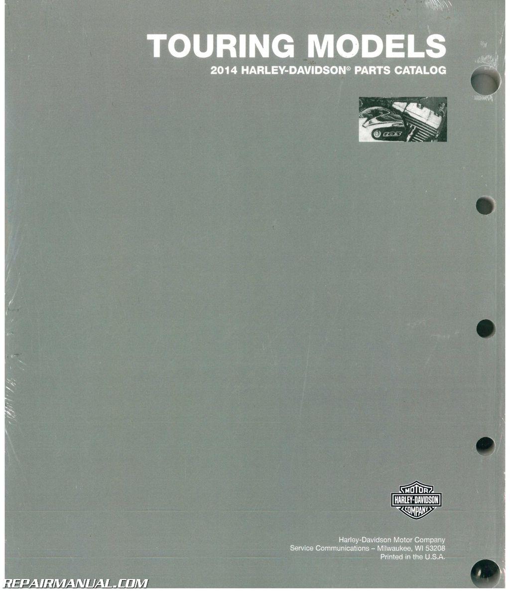 5915a 2014 Harley Davidson Touring Motorcycle Parts Manual Wiring Library