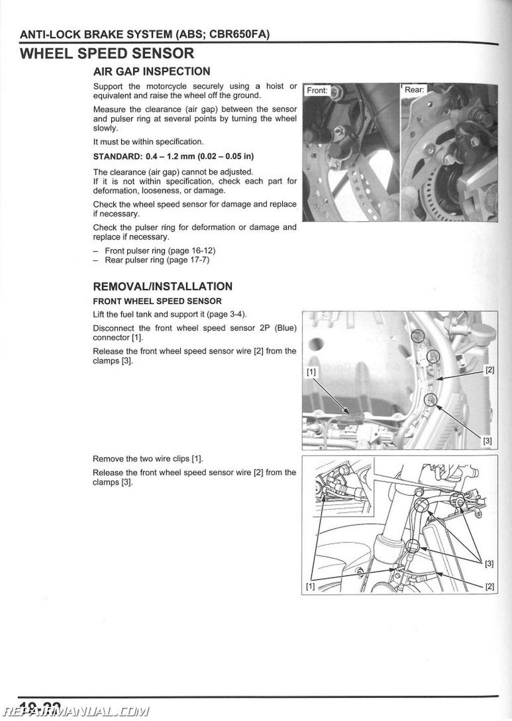 2013  U2013 2015 Honda Nch50 Metropolitan Scooter Service Manual   61ggl02
