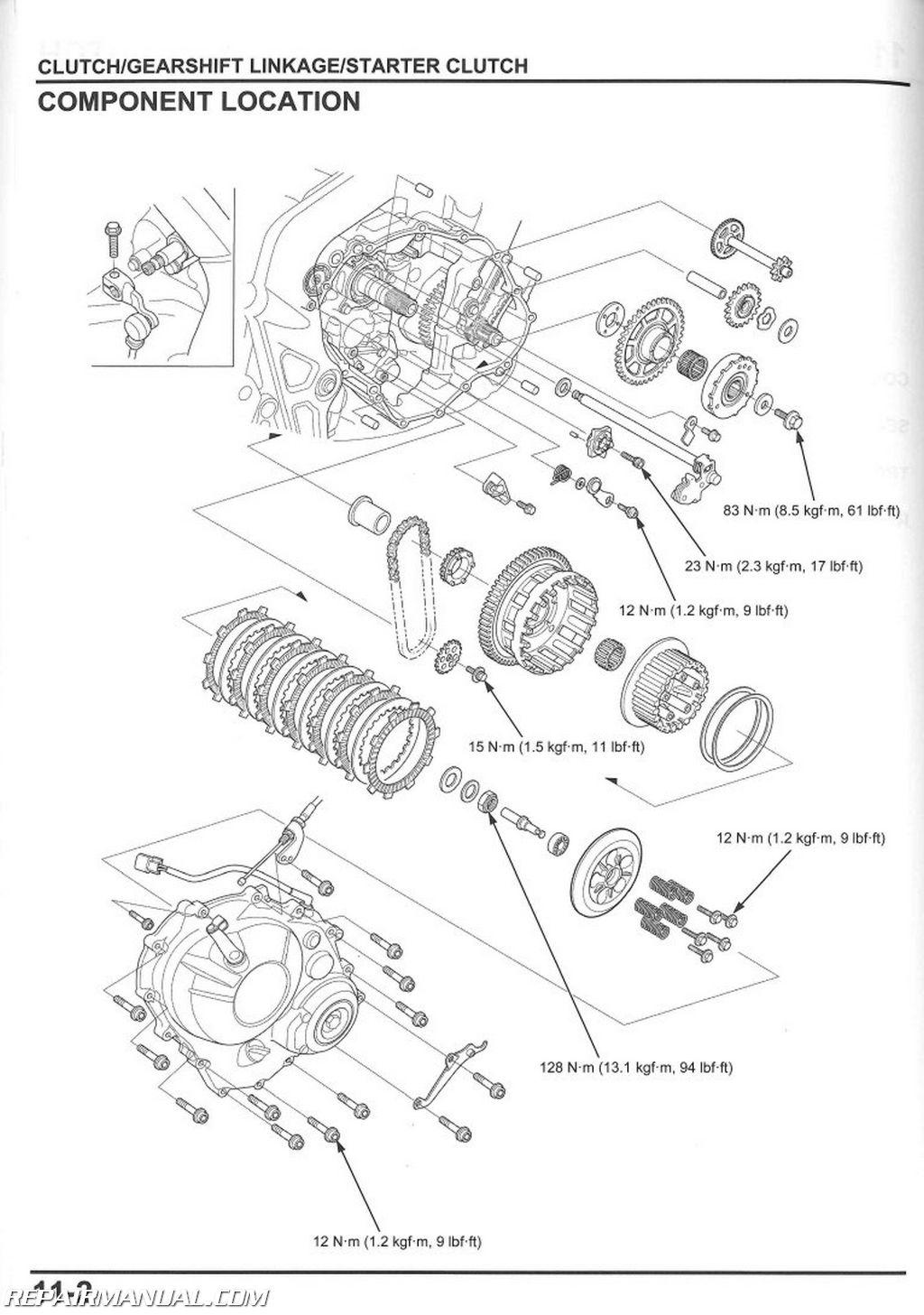 Wiring Diagram Honda Innova : Honda cbr f fa motorcycle service manual