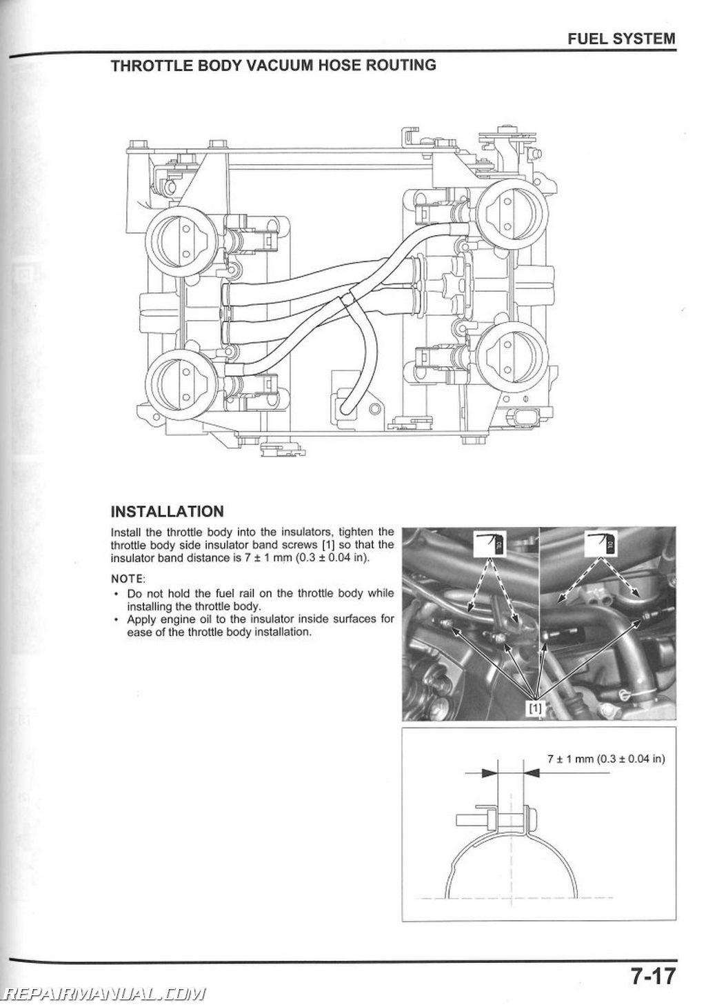 2014 Honda Ctx1300 A Motorcycle Service Manual