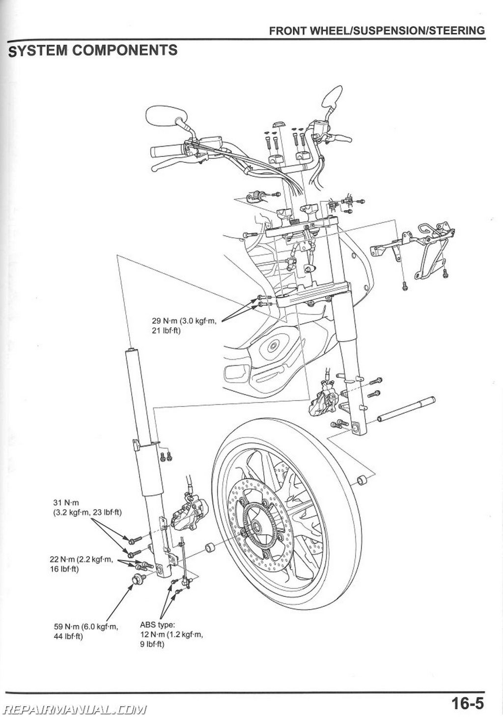 honda gold wing motorcycle wiring diagrams honda