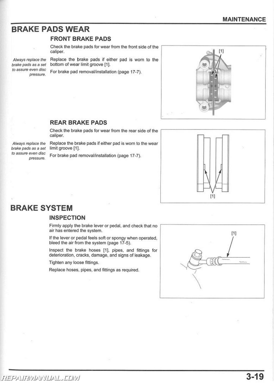 Honda VFR F FD Interceptor Motorcycle Service Manual - 1977 honda odyssey fl250 wiring diagram