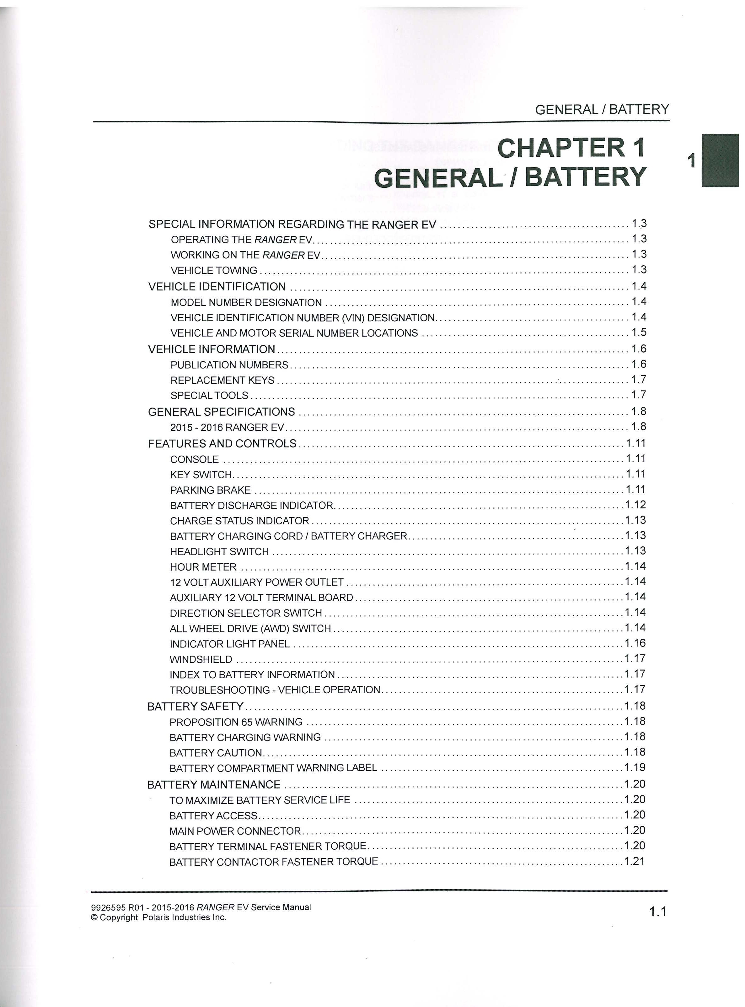 Ford Ranger Electric Ev Repair Manual Manual Guide