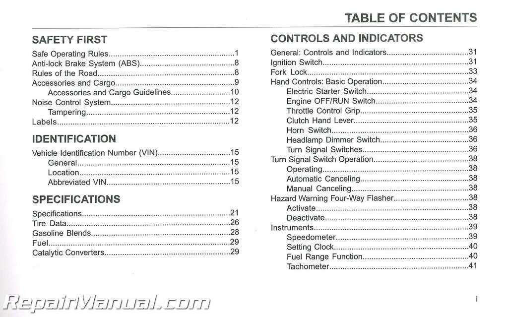 2015 Harley Davidson V-Rod Models Motorcycle Owners Manual