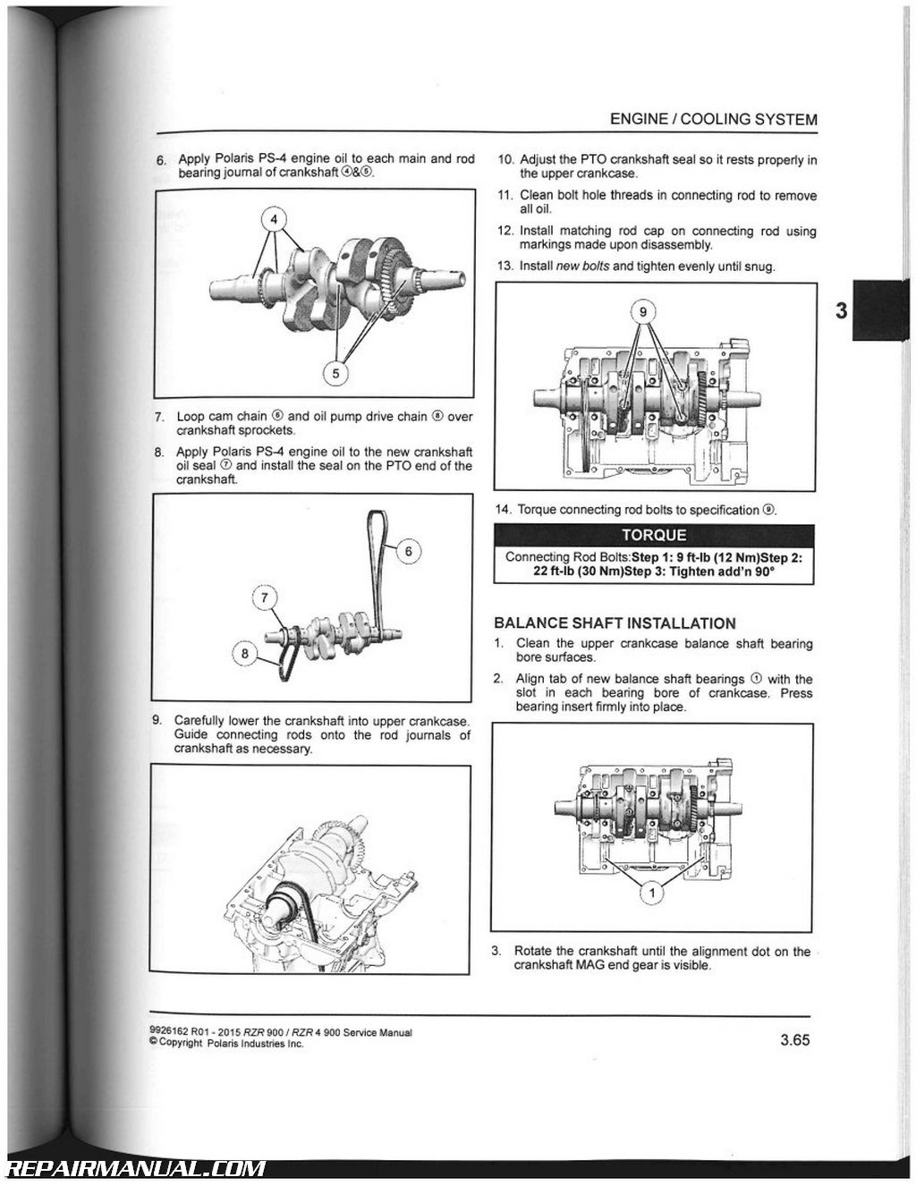2015 polaris ranger rzr 900 rzr 4 900 side by side service manual rh  repairmanual com