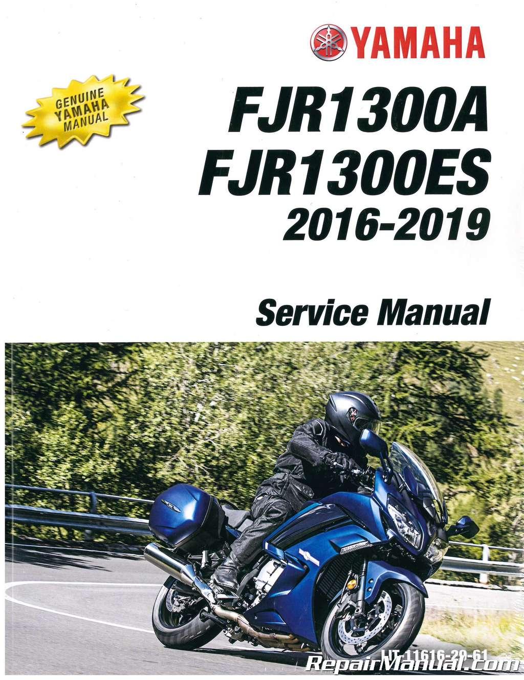 2016 2017 2018 yamaha fjr1300 fjr 1300 paper service manual 3-ring.