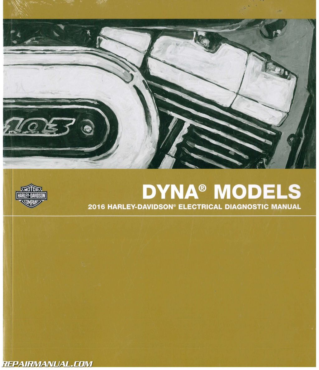 Electrical diagnostic manual For Harley on
