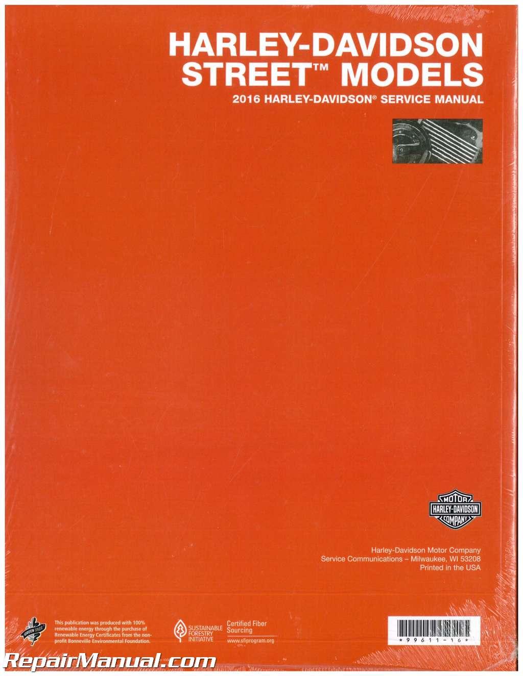 free harley davidson service manual