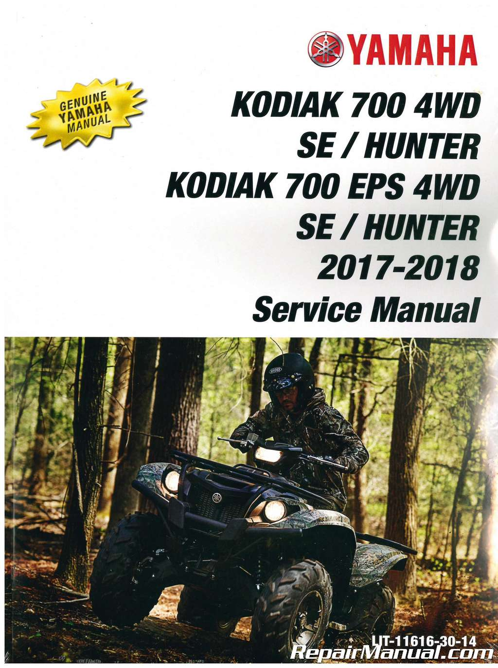 2017 – 2018 Yamaha Kodiak 700 ATV Service Manual