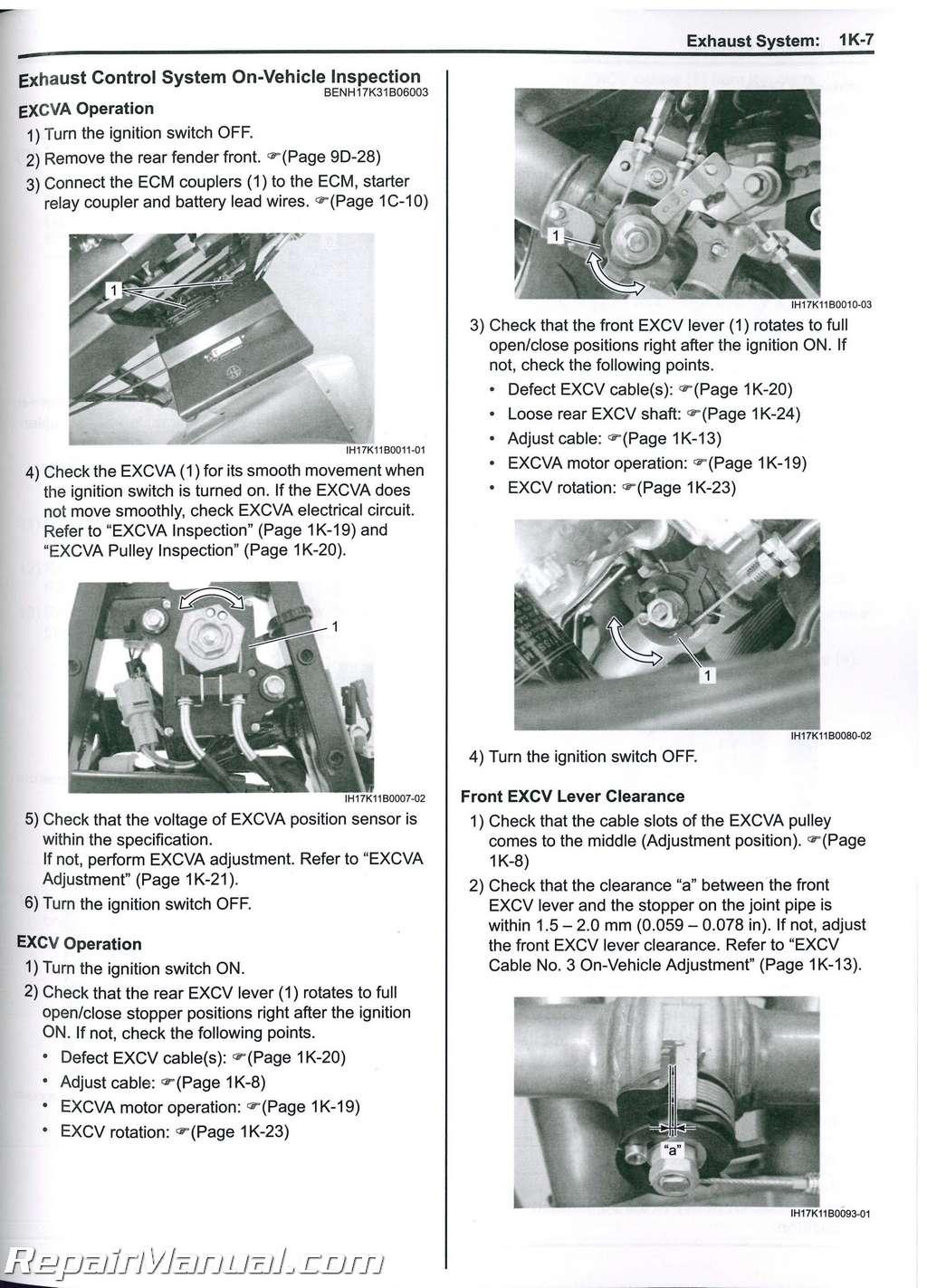 2017 2018 Suzuki Gsx R1000 Motorcycle Service Manual