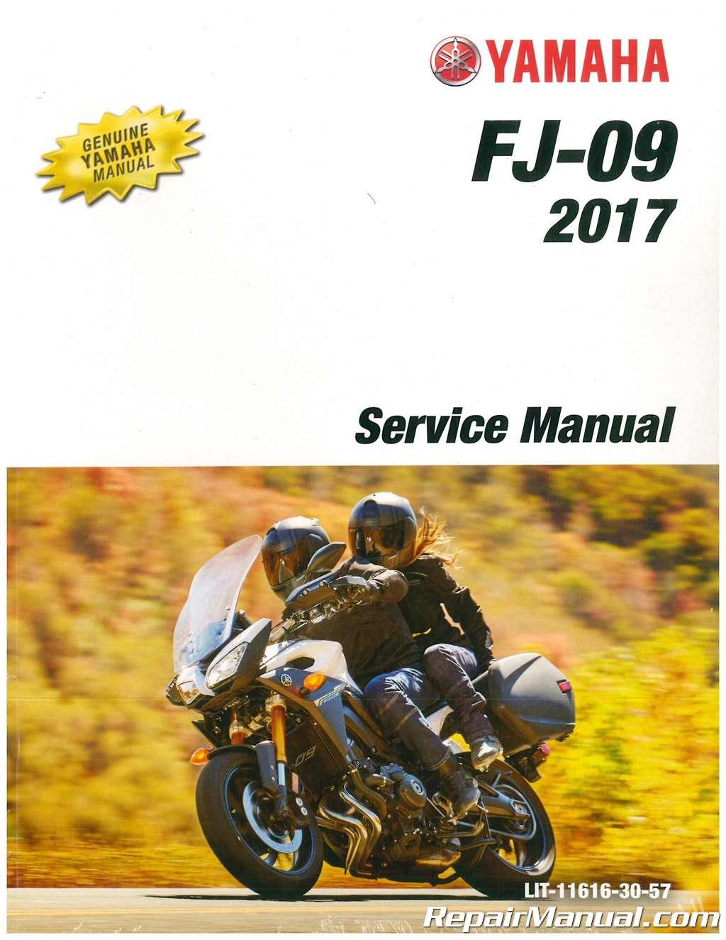 2017 yamaha fj 09 motorcycle service manual rh repairmanual com yamaha fj 1100 workshop manual Yamaha 750 Cafe Racer