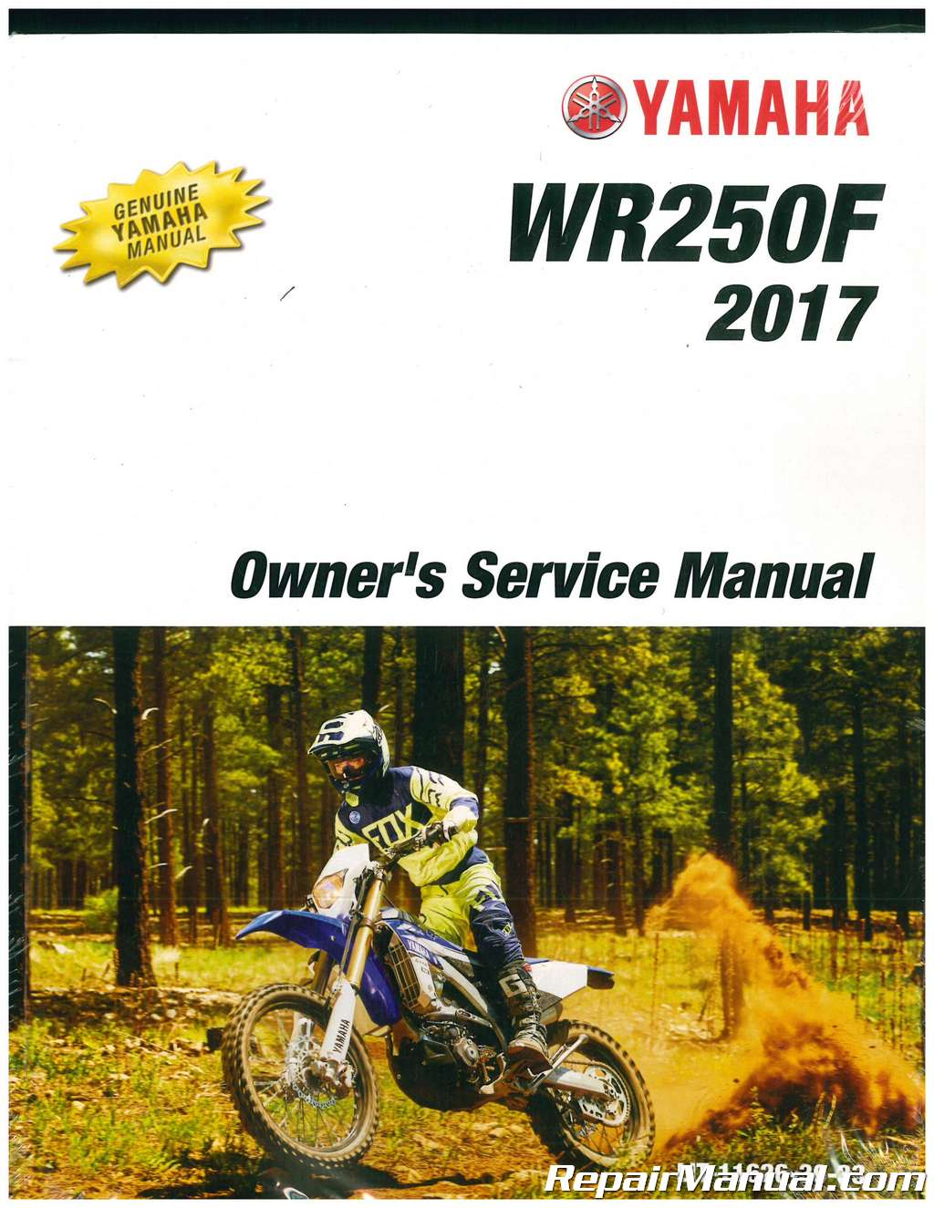 Yamaha wr250f manual download manuals & technical.
