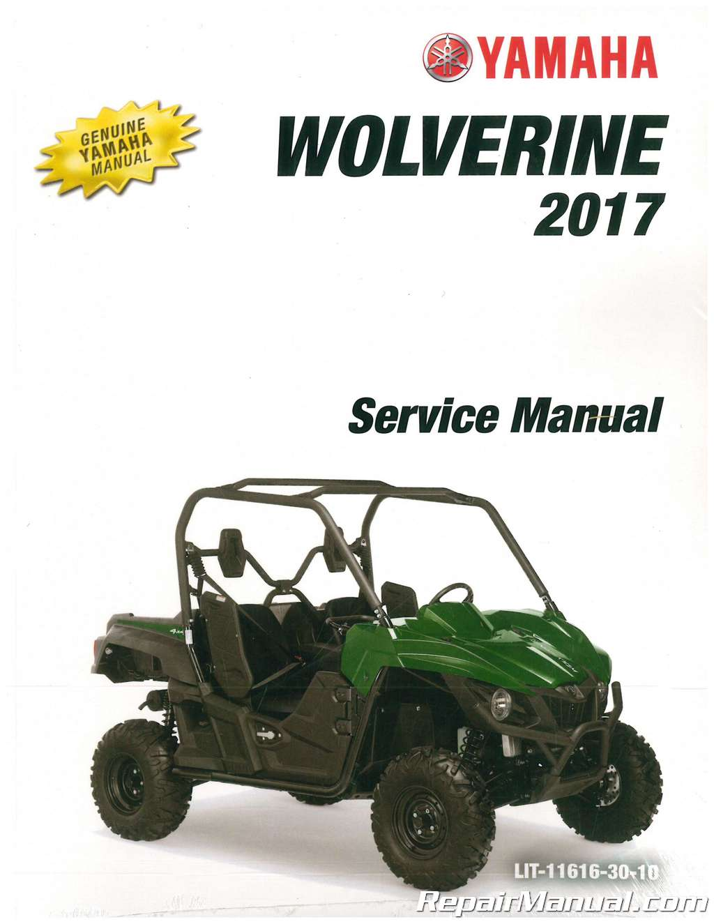 2017 yamaha wolverine 700 atv service manual rh repairmanual com yamaha wolverine manual pdf yamaha wolverine manual clutch