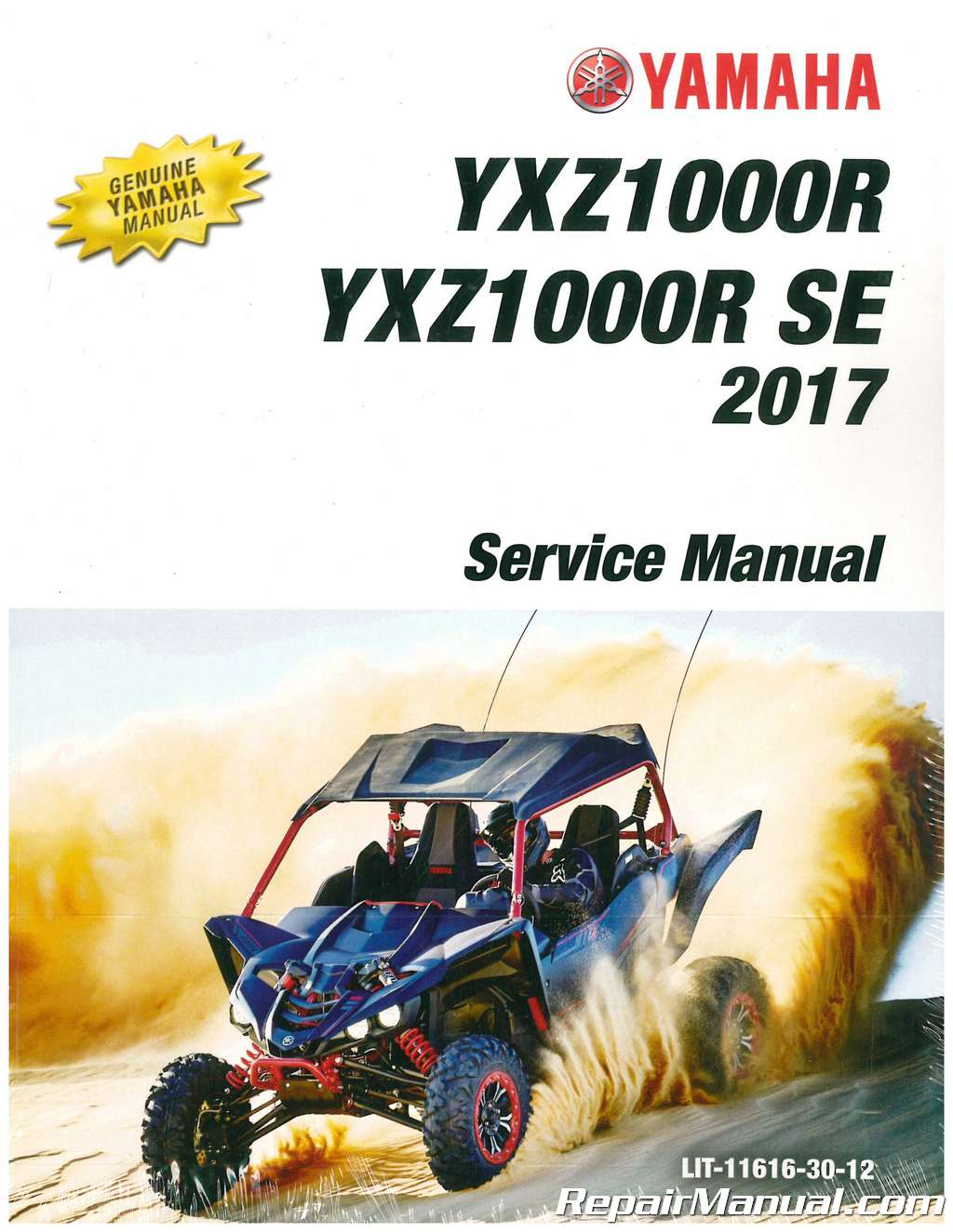 Yamaha 2019 YXZ1000R EPS SS Service Manual