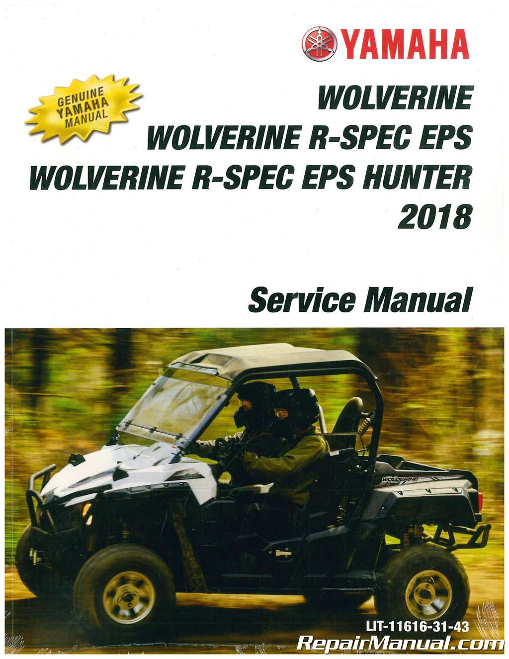 2018 yamaha wolverine 700 atv service manual rh repairmanual com yamaha wolverine 350 manual yamaha wolverine manual free