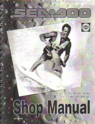 Official 1994 Sea Doo SP5870 SPI5872 SPX5871 XP5854 GTS5814 GTX5862 and Explorer 5821 Factory Service Manual