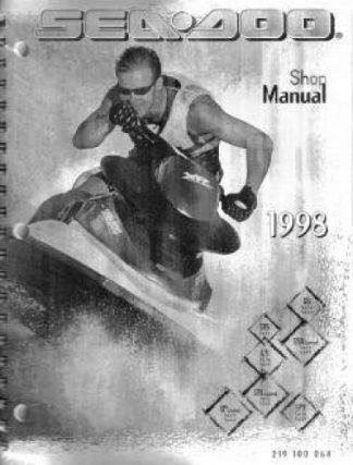 Official 1998 Sea Doo Factory Service Manual