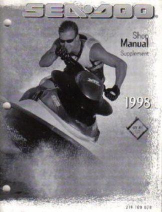 1988-1996 Clymer Sea-Doo Water Vehicles Service Manual