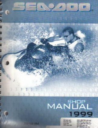 Official 1999 Sea-Doo Service Manual