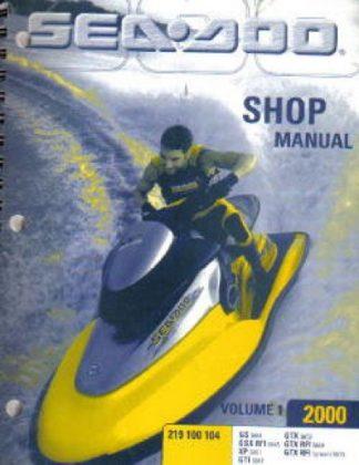 Official 2000 Sea Doo Factory Service Manual