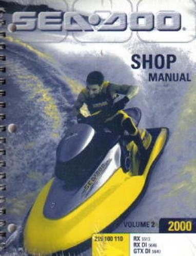 2000 sea doo service manual MAINTEANCE On a 1997 Sea-Doo GSX Specs Sea-Doo Models