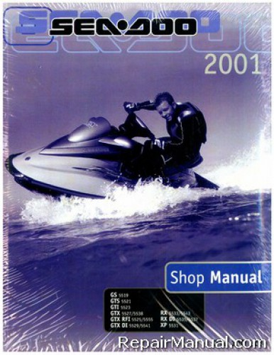 2001 sea doo gs gts gti gtx gtx rfi gtx di rx rx di xp shop manual rh repairmanual com 2003 Sea-Doo GTX Di 951 Engine 2003 Sea-Doo GTX Supercharged Specs