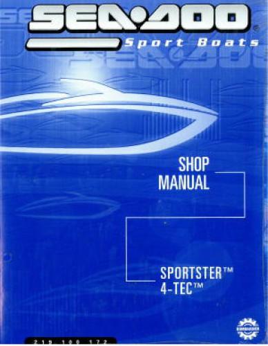 Official 2003 Sea-Doo Sportster 4-Tec Factory Shop Manual
