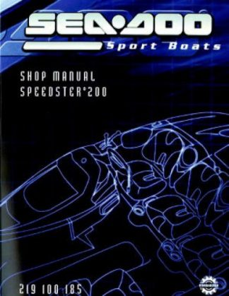 Official 2005 Sea-Doo Speedster 200 Factory Service Manual