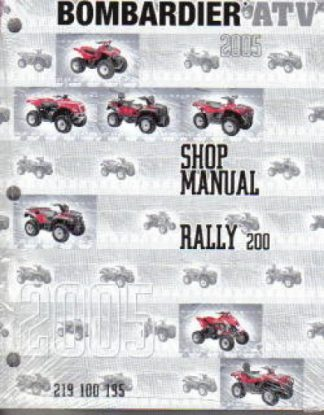 Official 2005 Bombardier Rally Factory Service Manual