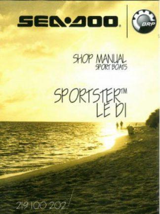 Official 2006 Sea-Doo Sportster LE DI Factory Shop Manual