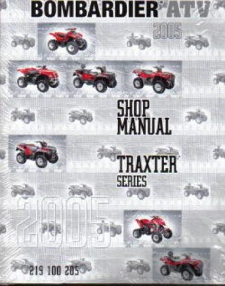 Official 2005 Bombardier Traxter-Quest Factory Service Manual