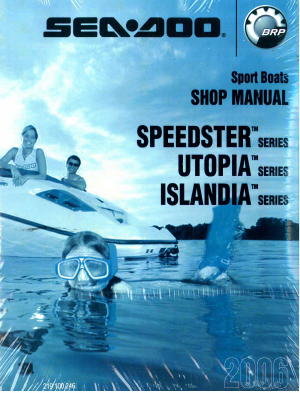 2006 sea doo speedster utopia islandia shop manual rh repairmanual com 1996 sea doo sportster manual sea doo sportster service manual
