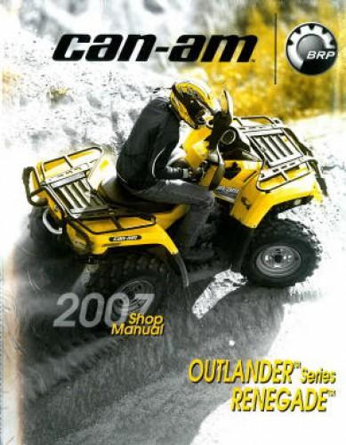 Official 2007 Outlander Renegade Factory Service Manual
