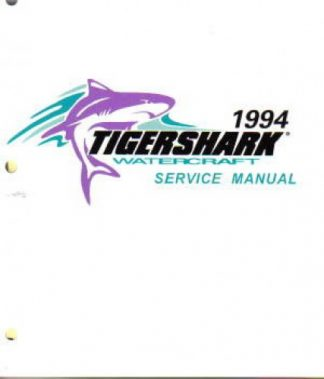 Official 1994 Tigershark Service Manual