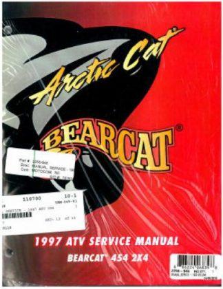 1997 Arctic Cat Bearcat 454 2x4 ATV Official Factory Service Manual