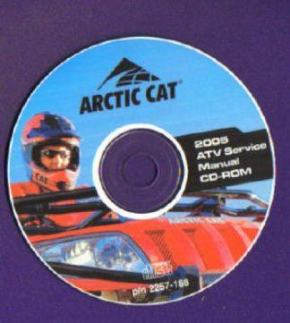 Official 2005 Arctic Cat 50 90 ATV Factory Service Manual CD-ROM