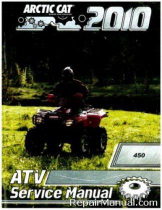Official 2010 Arctic Cat 450 ATV Factory Service Manual