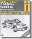 Haynes Chevy Corsica Beretta 1987-1996 Auto Repair Manual
