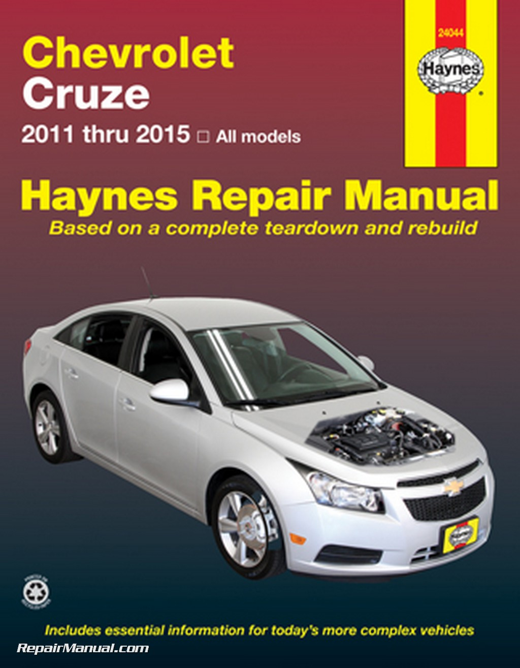 chevrolet cruze haynes automotive repair manual 2011 2015. Black Bedroom Furniture Sets. Home Design Ideas