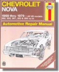Haynes Chevrolet Nova 1969-1979 Auto Repair Manual