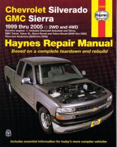 Chevy Silverado Gmc Sierra Pickups 1999