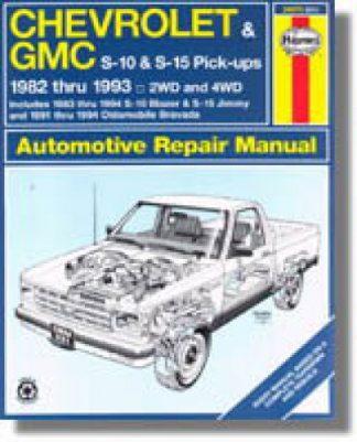Haynes S-10 GMC S-23 Pick-ups Olds Bravada 1982-1993 Auto Repair Manual