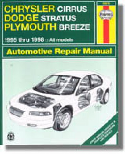 Haynes Chrysler Cirrus Dodge Startus Plymouth Breeze 1995-2000 Auto Repair Manual