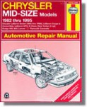 Haynes Chrysler Mid-Size Front-Wheel Drive 1982-1995 Auto Repair Manual