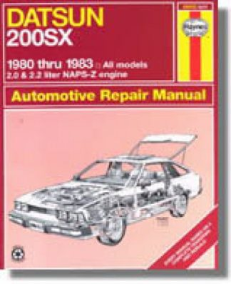 Haynes Datsun 200SX 1980-1983 Auto Repair Manual