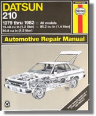 Haynes Datsun 210 1979-1982 Auto Repair Manual