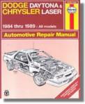 Haynes Daytona Chrysler Laser 1984-1989 Auto Repair Manual